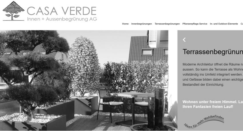 Casa Verde Innen und Aussenbegrünung AG