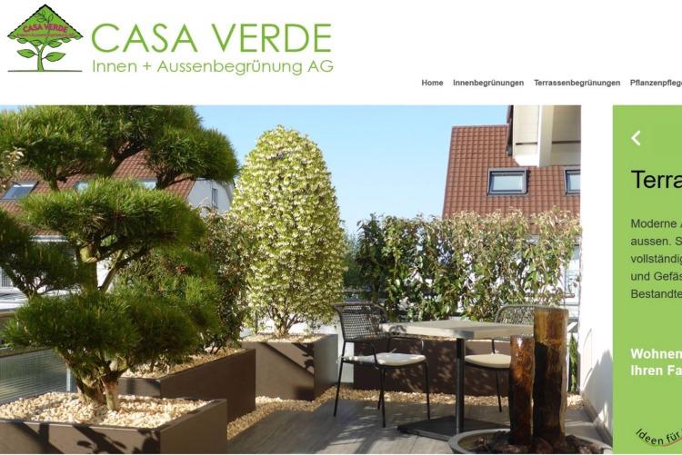 Casa Verde Innen- und Aussenbegrünung AG